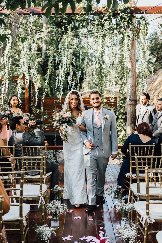 Emotional Intimate Outdoor Wedding In Miami Miami Wedding