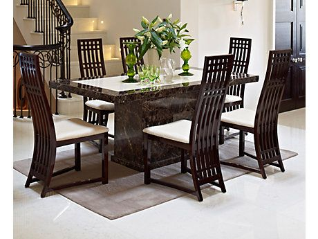 Dark Wood Dining Room Chairs Inspiration Excellentchairsfordiningtablewithcaesarfurnituredining Design Decoration