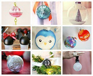 Ideas de esferas de navidad para el hogar decoraci n - Como decorar una bola de navidad ...