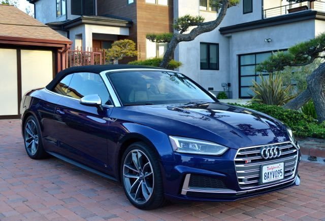 2018 Audi S5 Gorgeous Cabriolet 3 0t Quattro Only 4950 Miles Like New