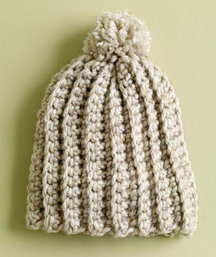 9f70ff6a2f3 Ravelry  Ripe Wheat Hat pattern by Lion Brand Yarn