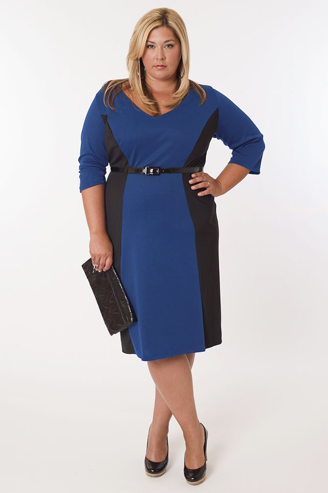 Awesome Dress For Plus Size Fashion Pinterest Fashion