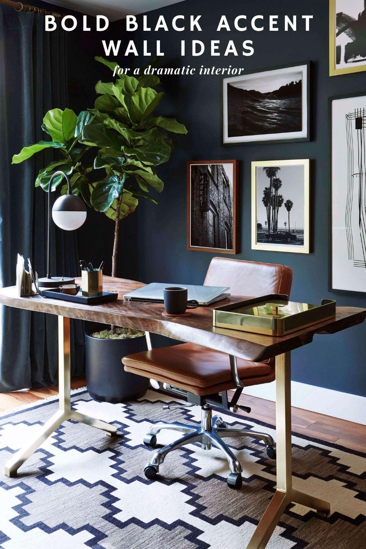 110 Black Accent Walls Ideas In 2021 Black Accent Walls Accent Wall Colors Home Decor