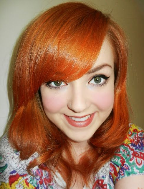 Flaming Hot Hair With Images Copper Hair Color Hair Color