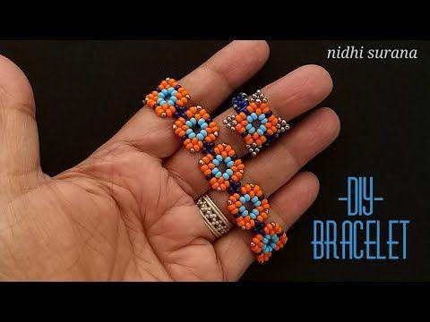Photo of ⚜️ Moroccan Tiles, Seed bead Bracelet / Choker|| Pulsera Tutorial Diy (0399)