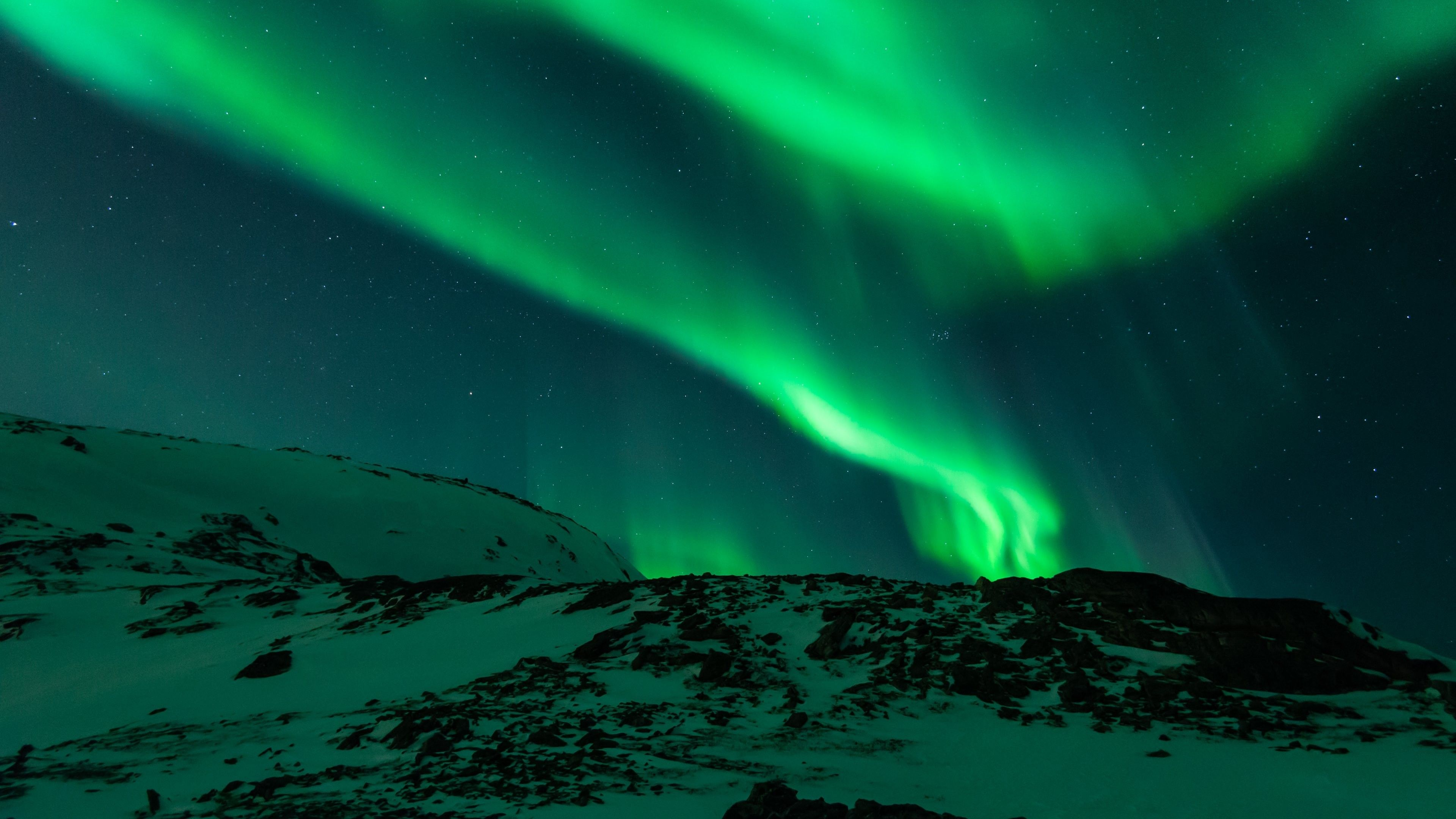 3840x2160 4k Ultra High Definition Hd 3840x2160 Hanya Aurora Borealis Beautiful Wallpapers Background Pictures