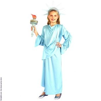 Little Miss Liberty Child Costume $1202 4th July Costumes - halloween costume ideas for tweens