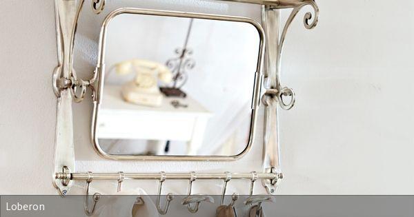 Spiegel Schräg Aufhängen garderobe ernestine deko christbaumanhänger und oder