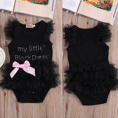 Little Black Costume Child