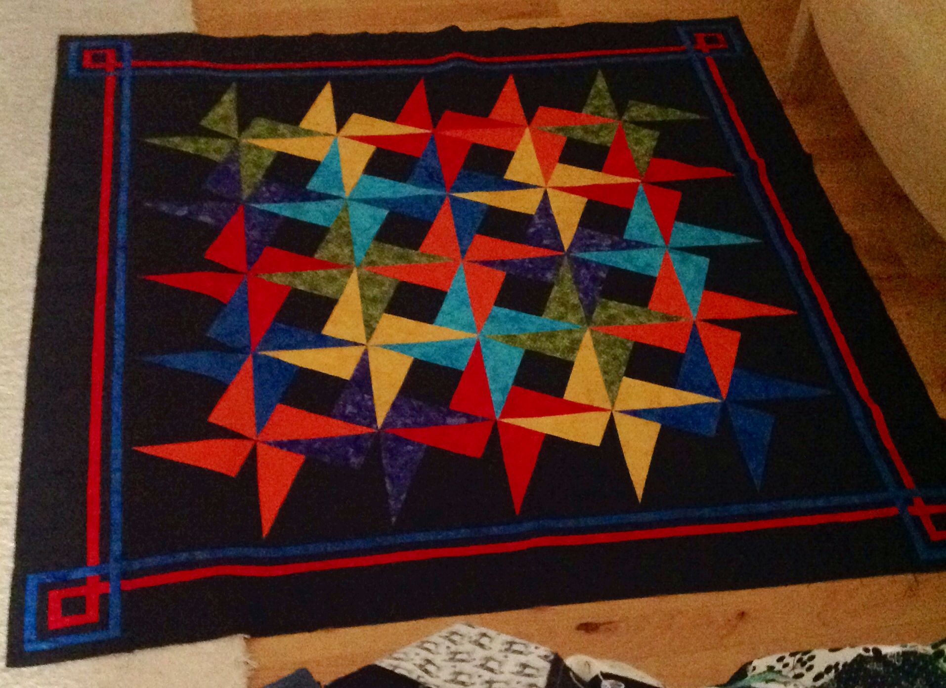 X Blocks Smarty Pants Pattern Beautiful Small Quilts