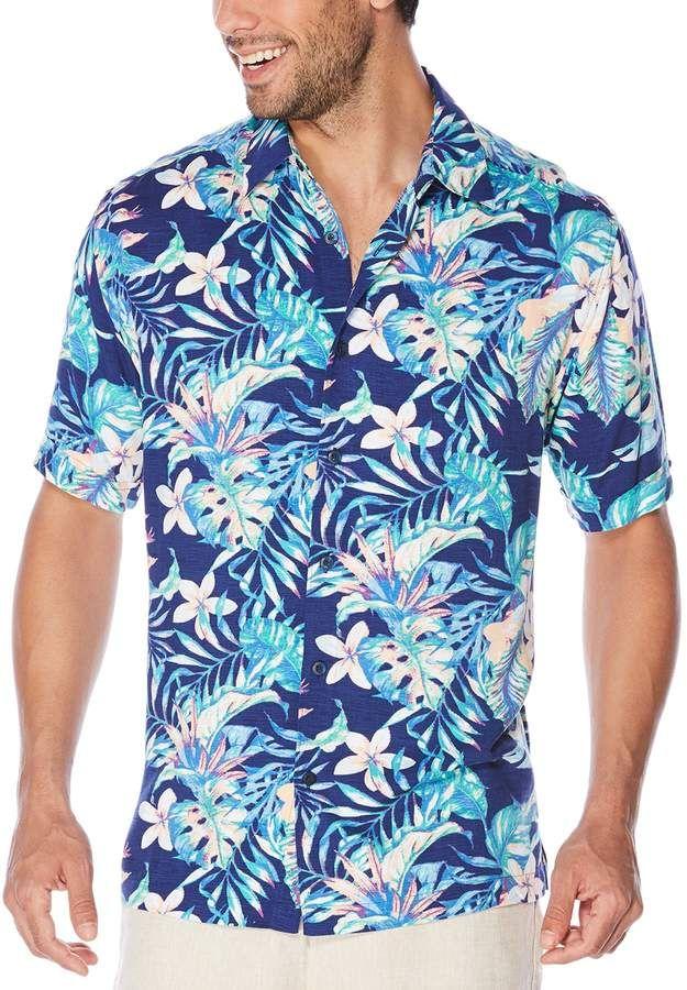 38fe1f1542 Big   Tall All Over Hawaiian Tropical Print Shirt in 2019