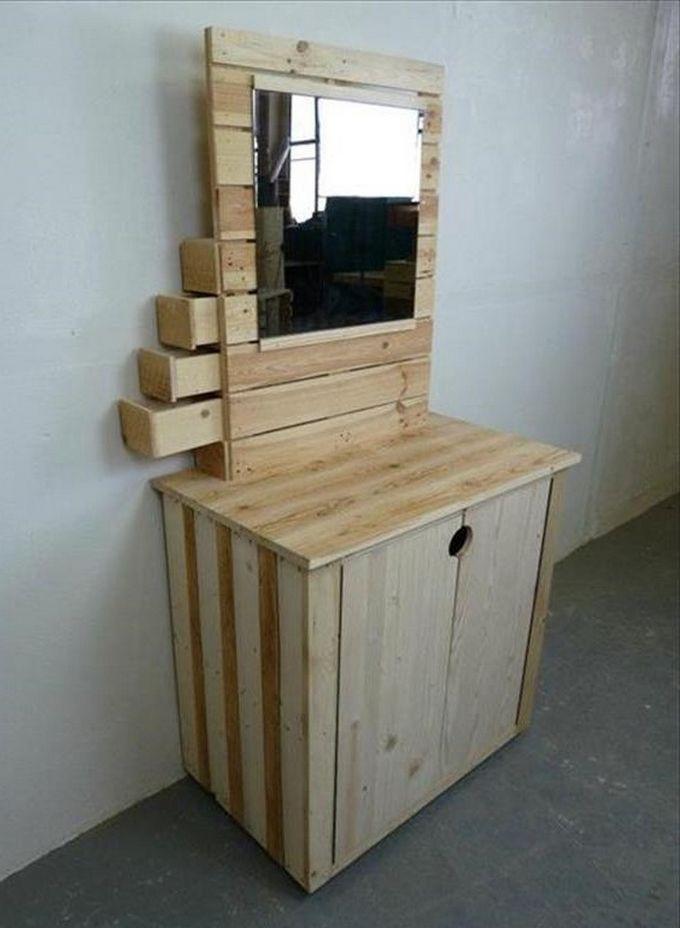 DIY Wonderful Wooden Pallets Ideas Palets, Madera y Carpintería - ideas con palets