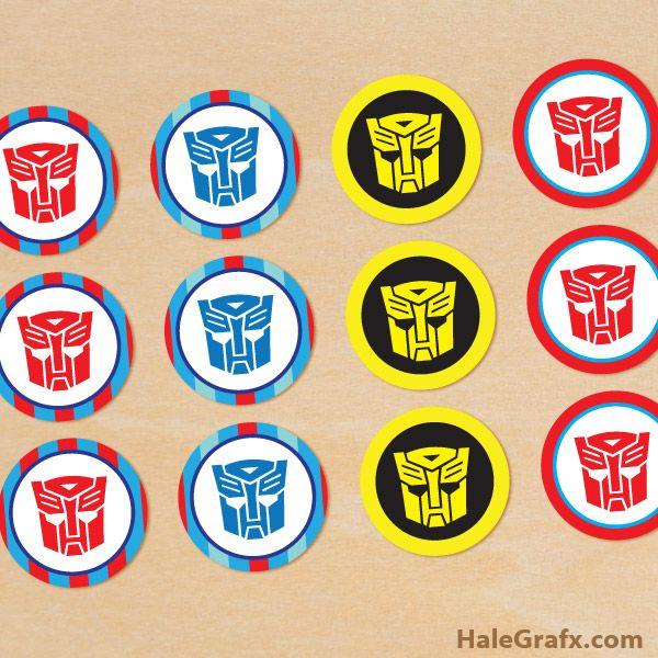 Transformers Cupcakes On Pinterest Transformer Cake