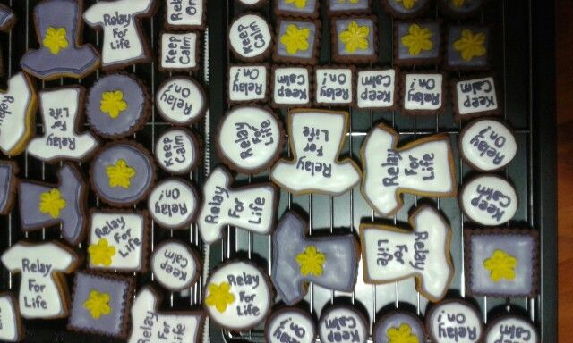 More of my Relay For Life cookies