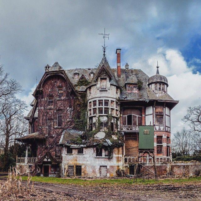 Haunted House Nyc Youtube: €�Abandoned Mansion, Belgium