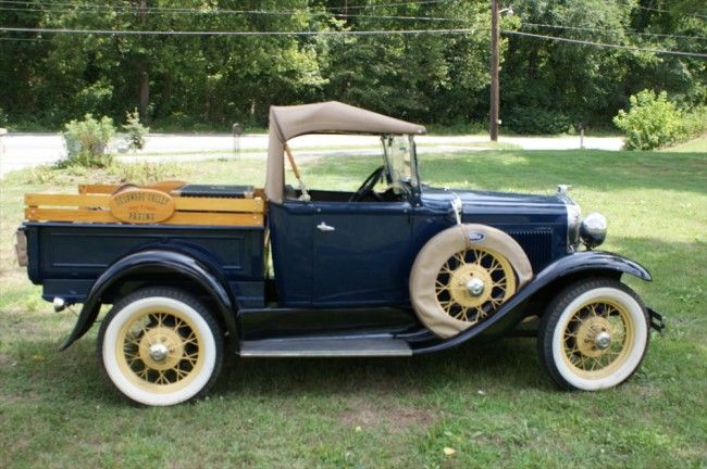 1930 ford pickup  Cool Trucks  Pinterest  Ford