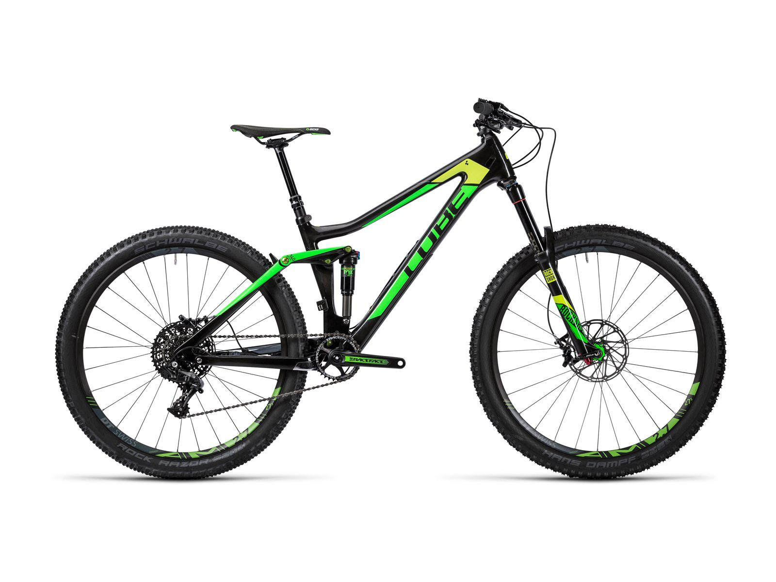 Cube Stereo 140 C 62 Sl 27 5 2016 Carbon N Green Mountainbike Im Biker Boarder Shop Kaufen With Images