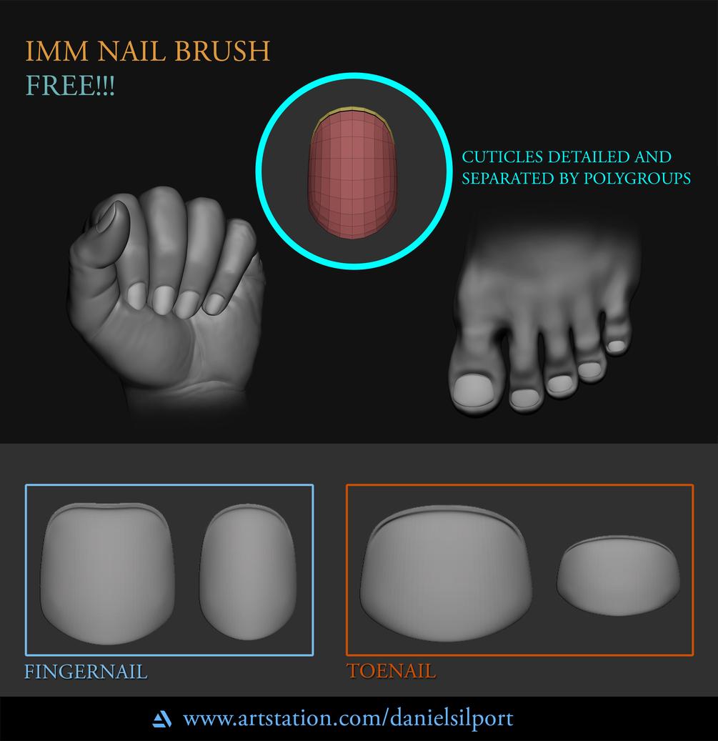 IMM Nail Brush