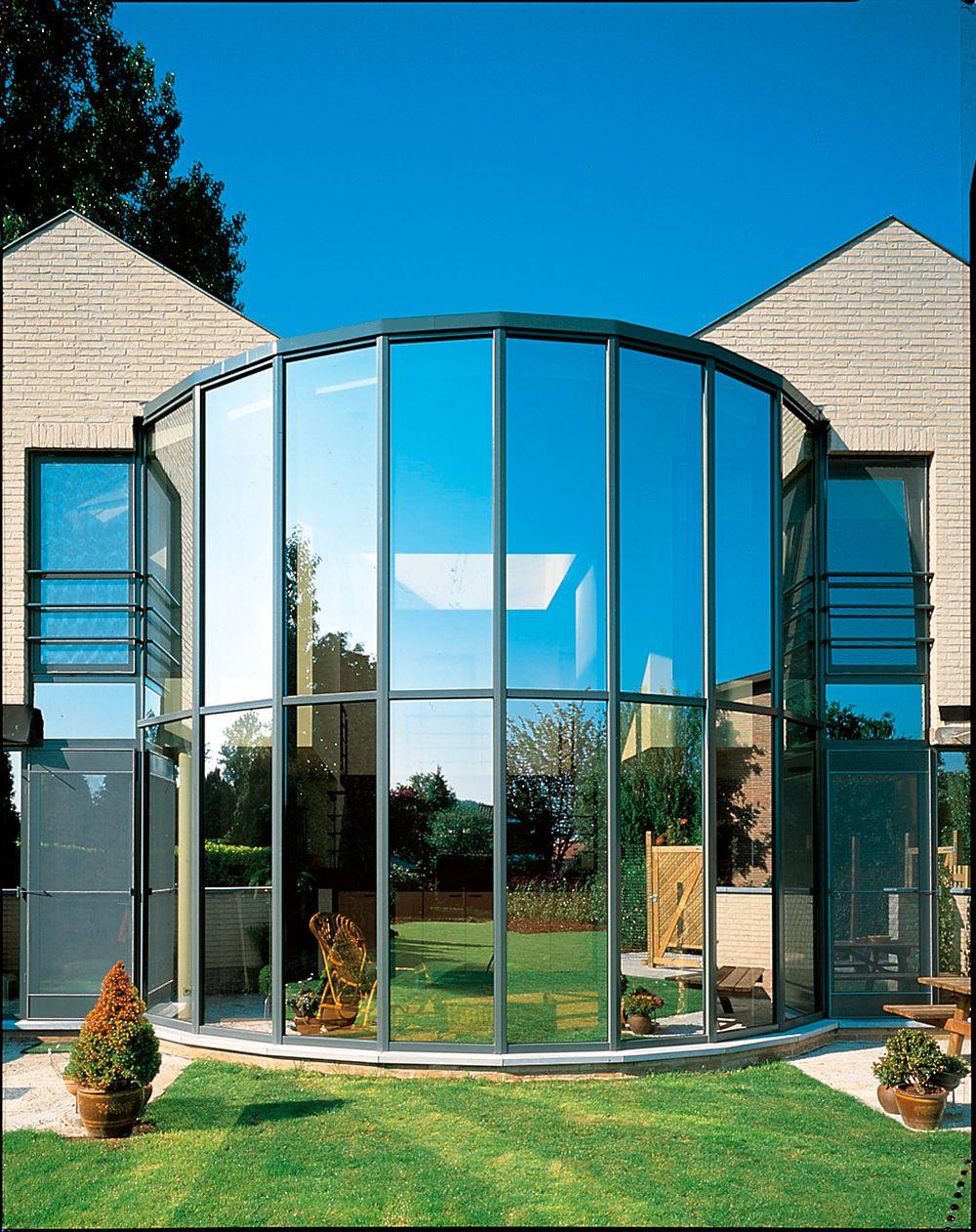 Stunning aluminium windows to lighten the whole house aluminium