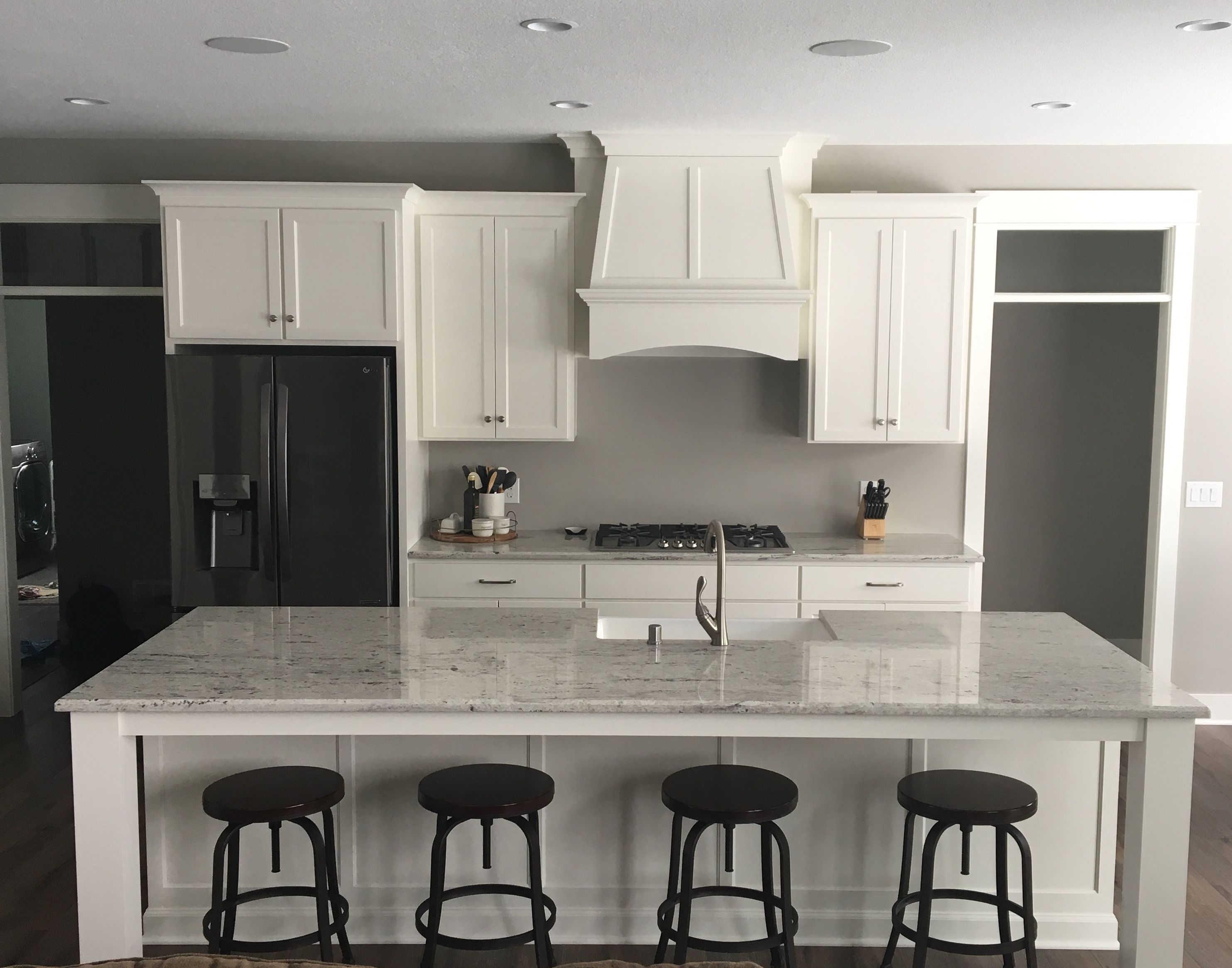 This white kitchen is classic yet modern