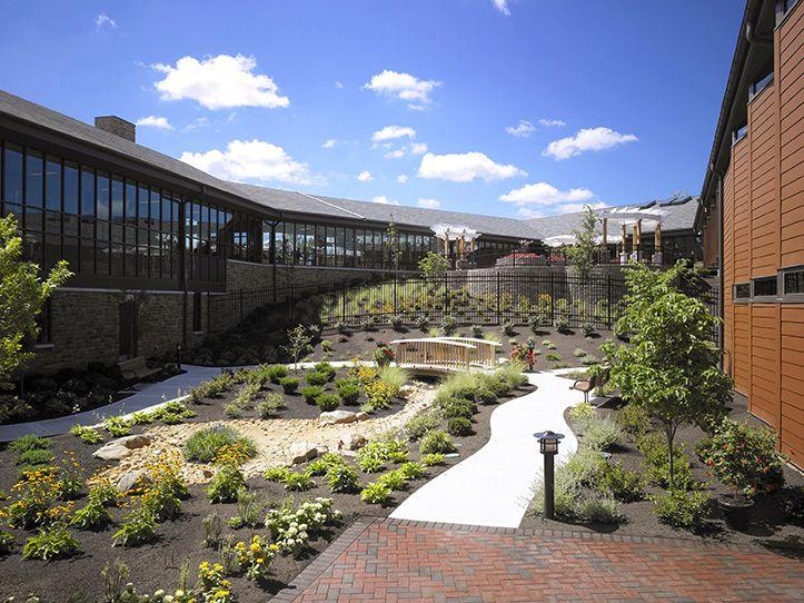 Our work healthcare centers public architecture