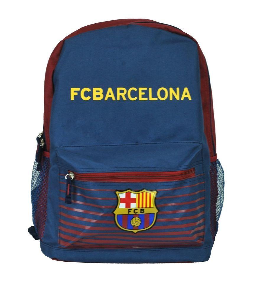 1d0b3e948 FC Barcelona backpack school mochila bookbag cinch Bag official Messi 10  #ISPORT #FCBarcelona