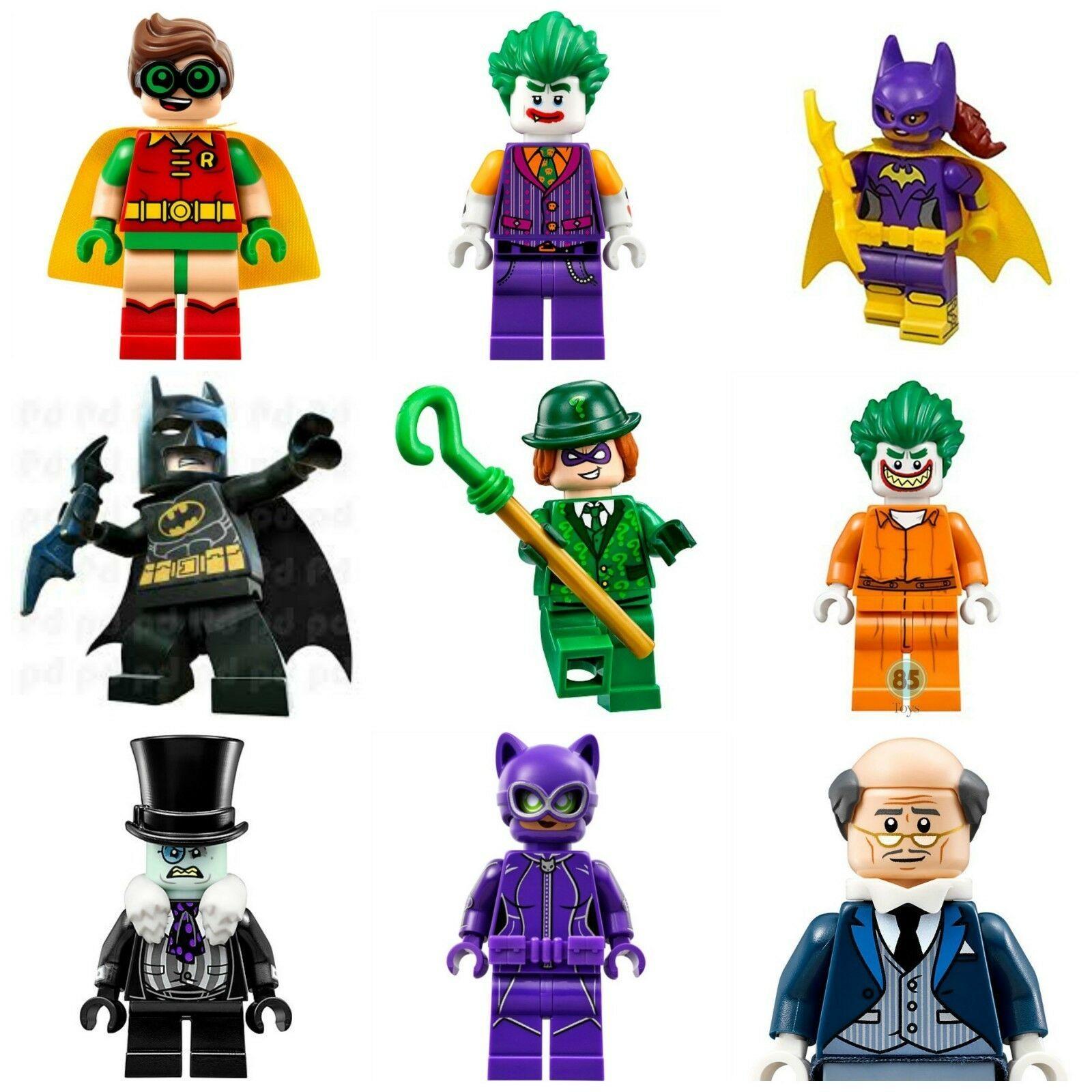 Batman Joker Penguin Robin Movie Super Hero lego Mini