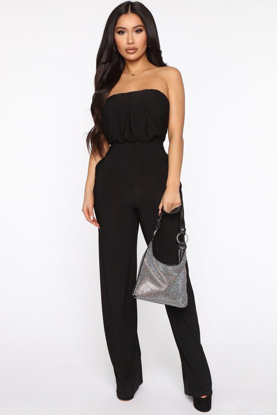 All I Ve Wanted Jumpsuit Black In 2021 Black Dresses Classy Black Jumpsuit Jumpsuit [ 1404 x 936 Pixel ]
