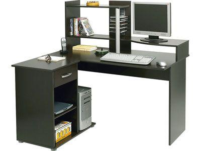 meuble informatique d 39 angle moving coloris weng meuble informatique 155328 deco. Black Bedroom Furniture Sets. Home Design Ideas