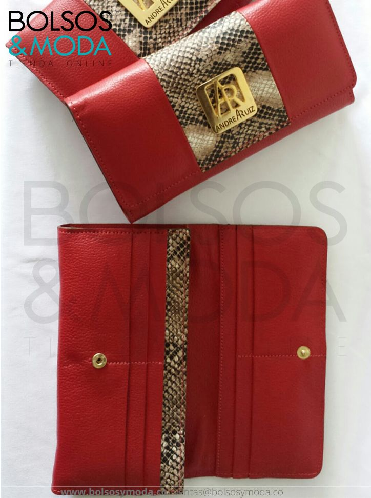 Billetera de Cuero Roja Stampa | Carteras | Pinterest | Mobile cases ...