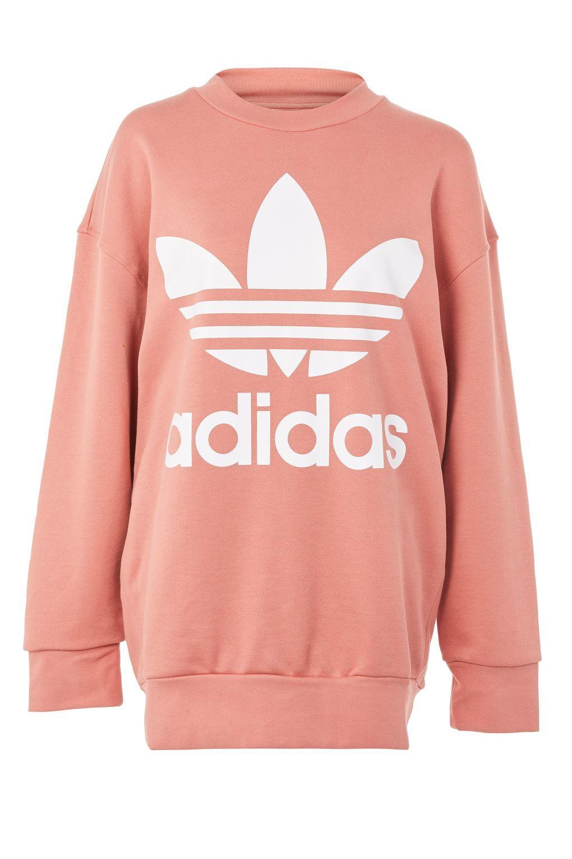 Original Trefoil Sweater By Adidas Originals Clothing Topshop Europe Topshop Tops Adidas Sweater Adidas Tops [ 1530 x 1020 Pixel ]