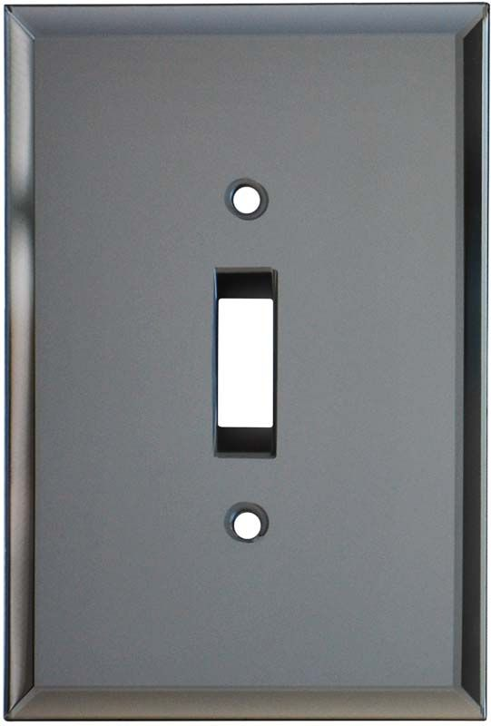 Glass Mirror Grey Tint Wall Plates Outlet Covers Decor Ideas