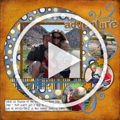 A Day in the Life: Freebie Digital Scrapbooking Template #2