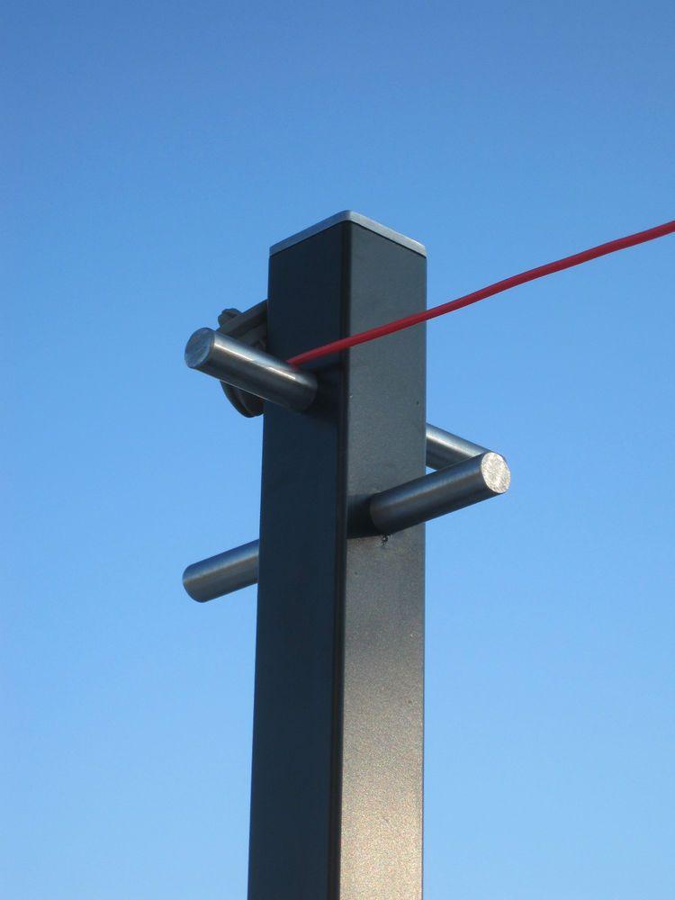 Clothes Line Pole So Contemporary