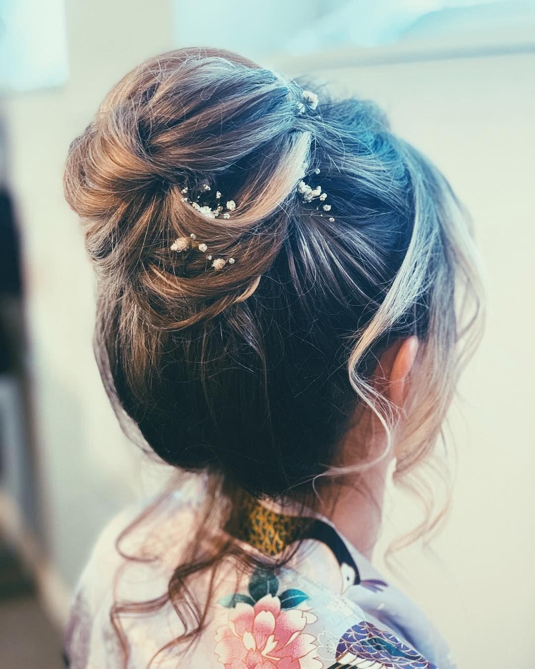 17+ Hair Bun High Bridesmaid in 2020   Bun hairstyles ...