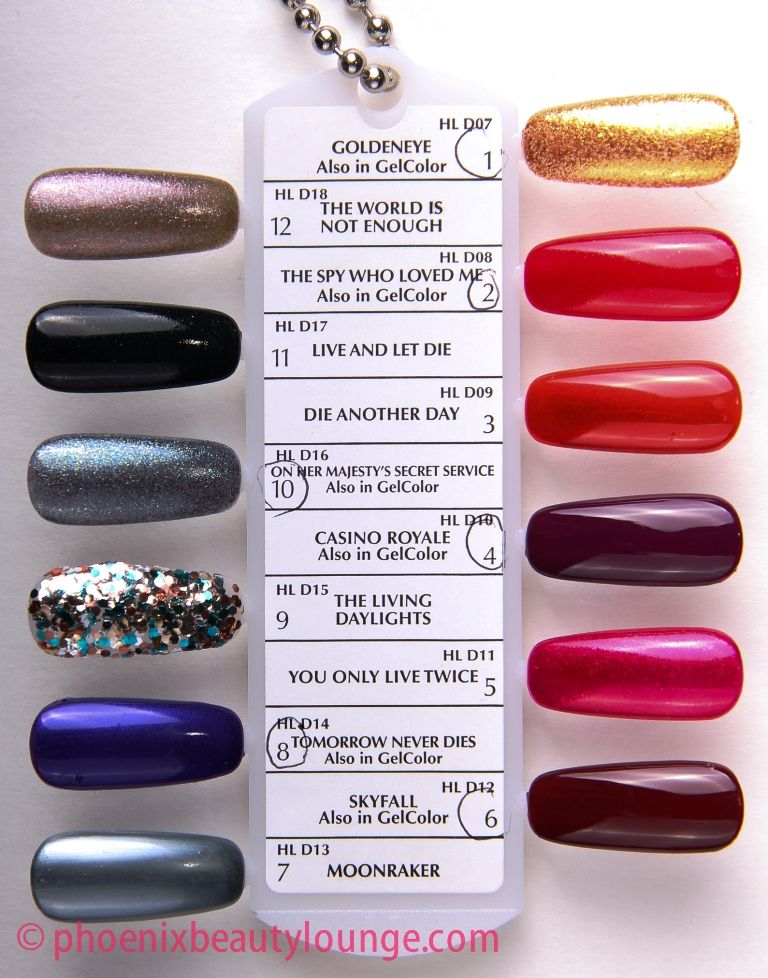 OPI Skyfall Collection, preview and swatch | Skyfall, OPI and Collection