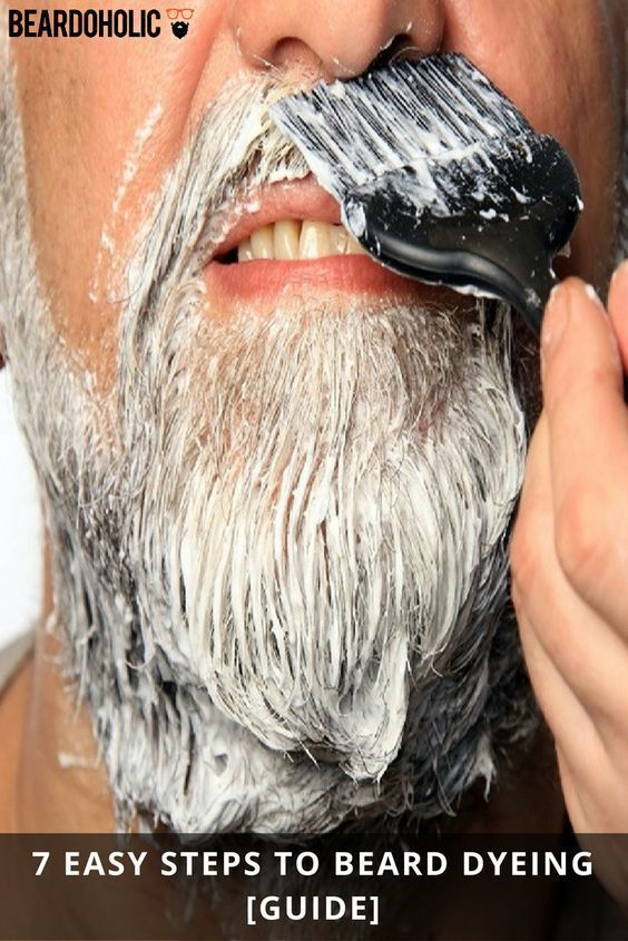 Best Beard Dye - For Safe and Quality Results - Sep. 2019 #hairandbeardstyles