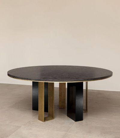 Herve Van der Straeten 398 Table Cache Cache Furniture - Modern