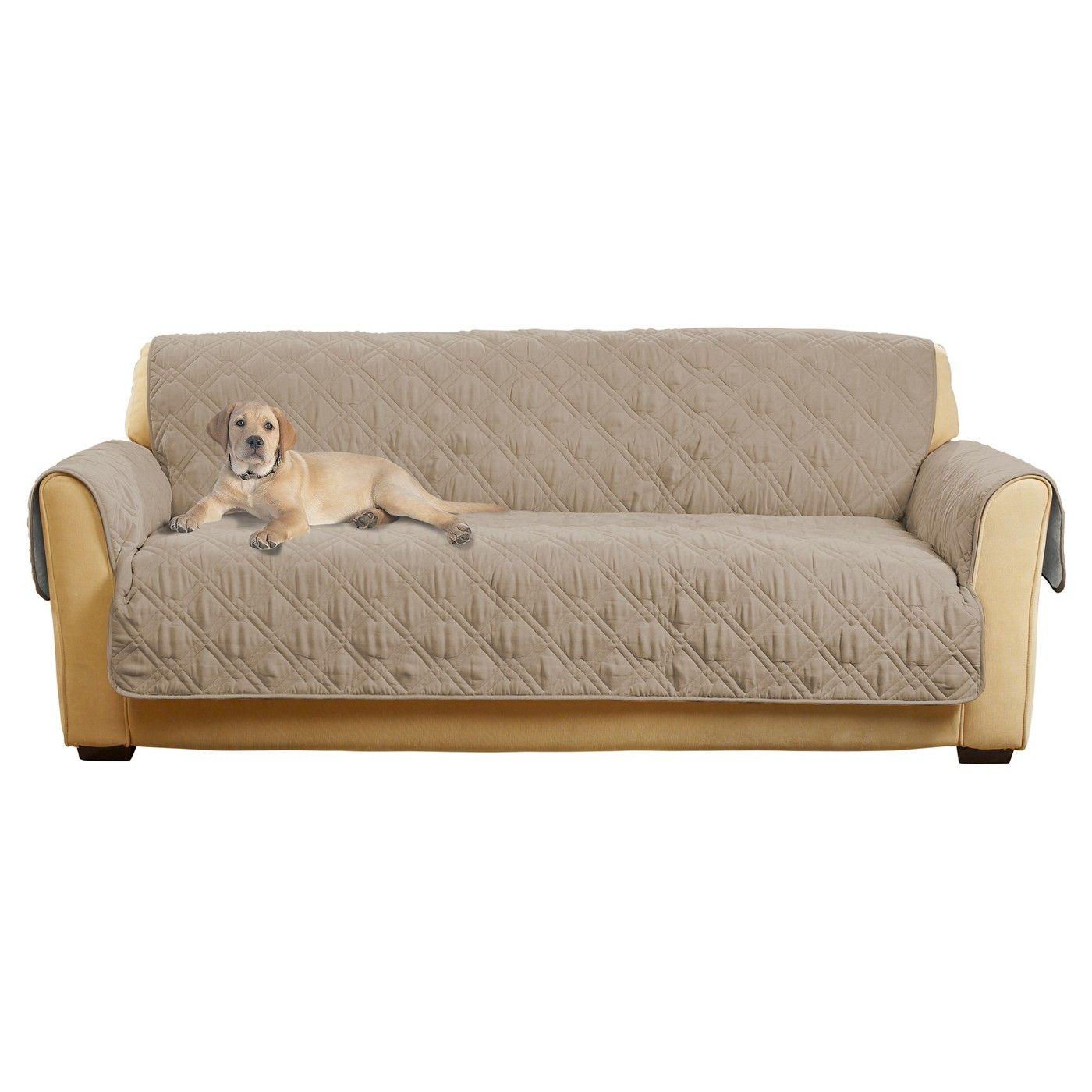 Non Slip Waterproof Sofa Furniture Cover Sure Fit Image 1 Of 3 Sofa Furniture Furniture Covers Couch Covers