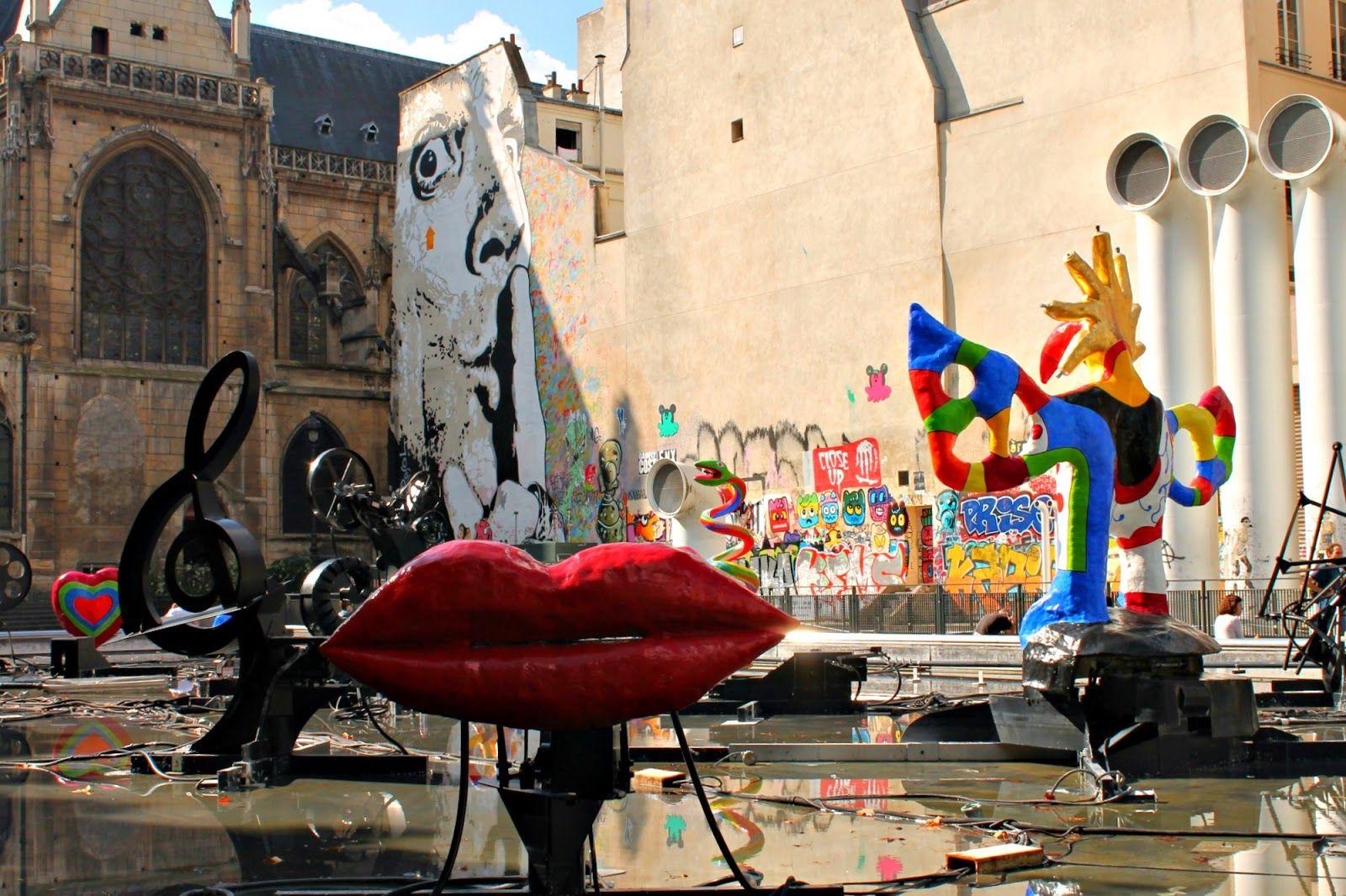 piazza Igor Stravinsky,Parigi