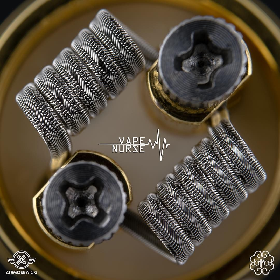 Believe in your fucking self.  #TheRealVapeNurse  _  Wire: @atomizerwick  RDA: Petri V2 by @dotmod