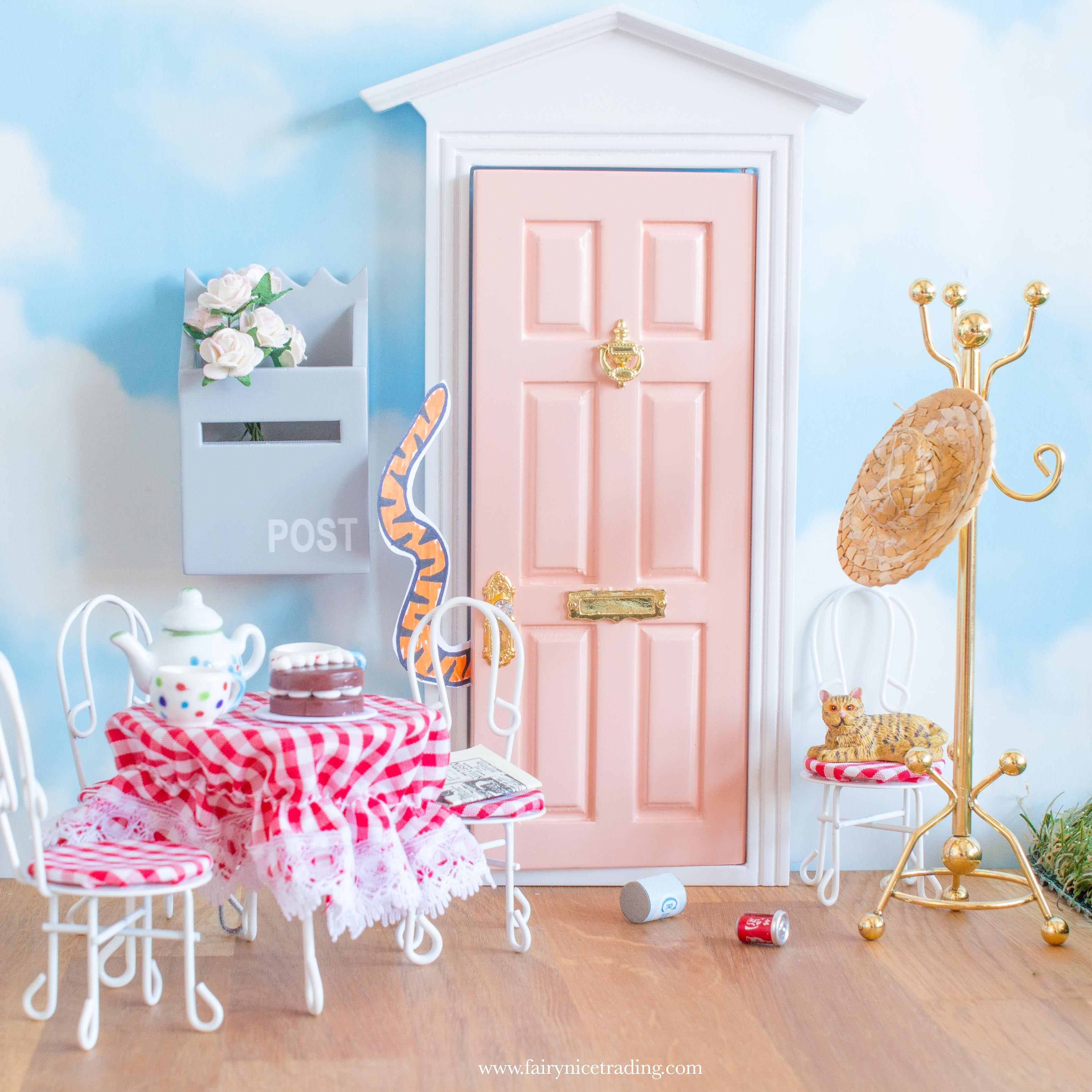The Tiger Who Came For Tea Fairy Door Idea