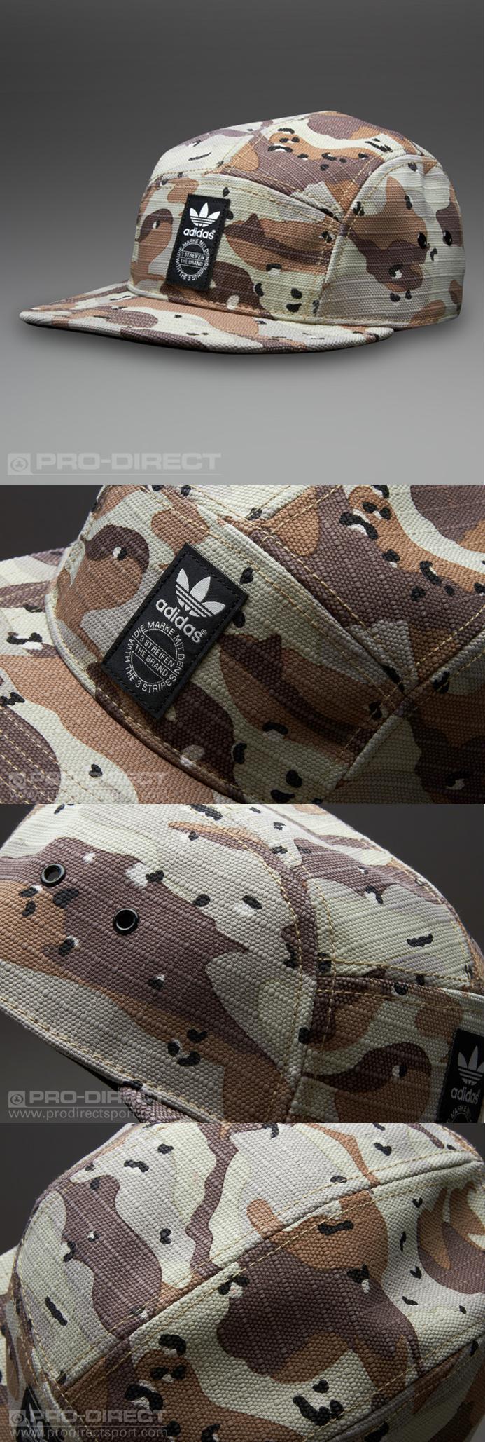 cb221d1ca41 adidas Originals Run Flatbrim Cap Camo - Earth Khaki Black