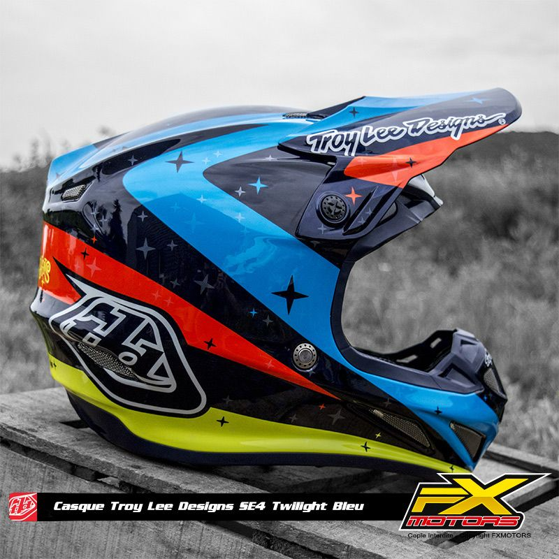 Casques Motocross Troy Lee Design