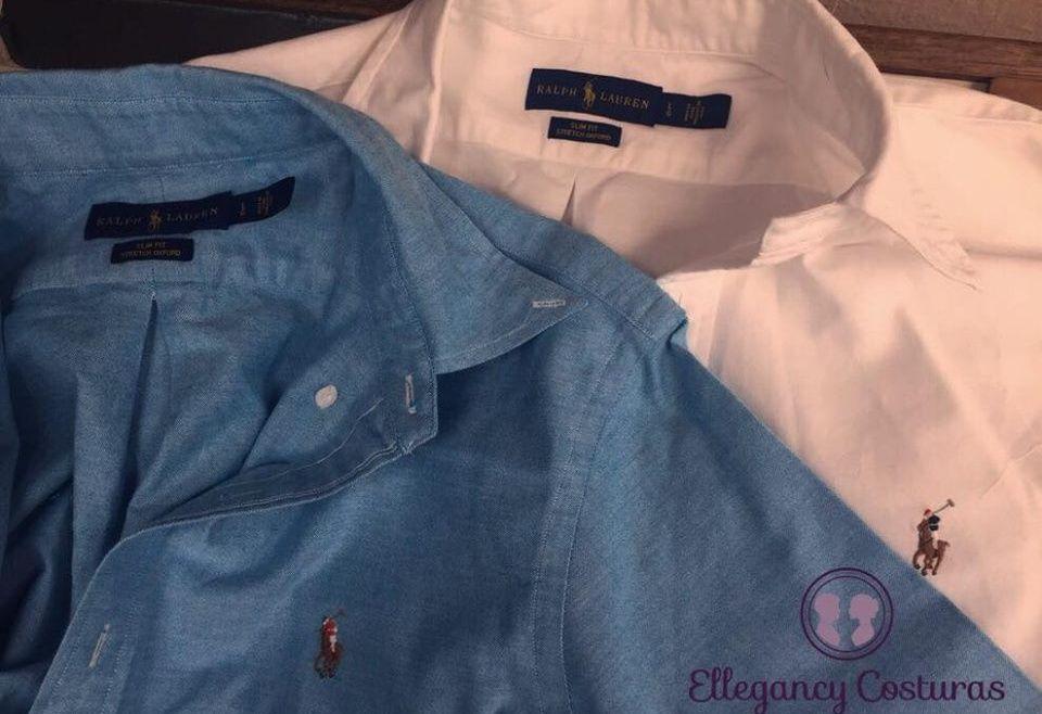 2954baedf8 Camisa Social Polo Ralph Lauren – Ajustes Diminuir comprimento de camisa  social