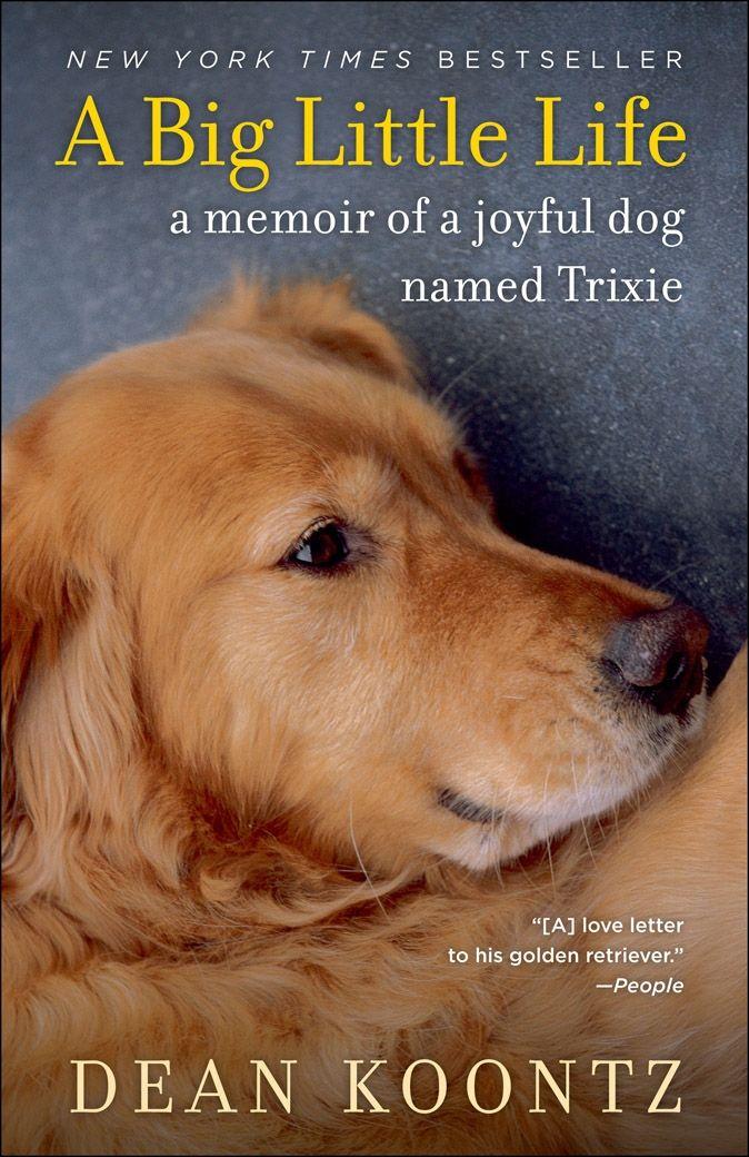 A Big Little Life Dog Names Dog Books Dean Koontz Books
