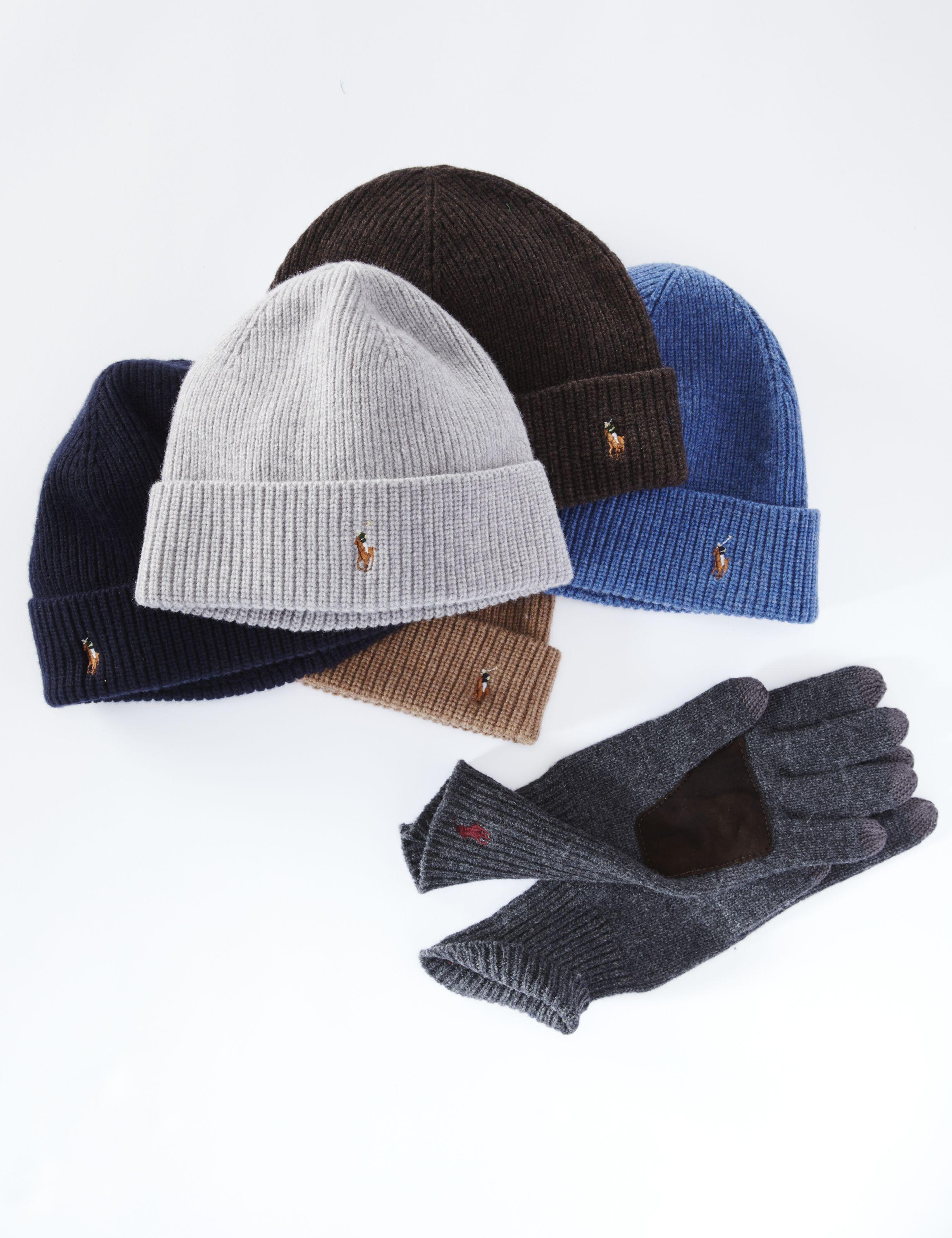 Polo Holiday Signature Merino Cuff Hat  bbcba614eb5