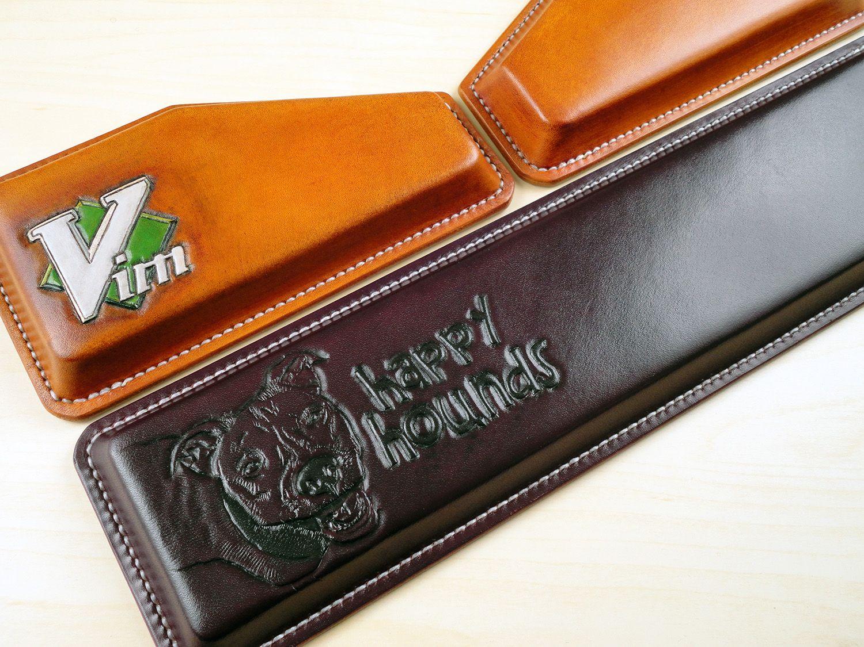 Noko's Leatherworks - Massdrop TKL Sale On Now - Custom Wrist Rests