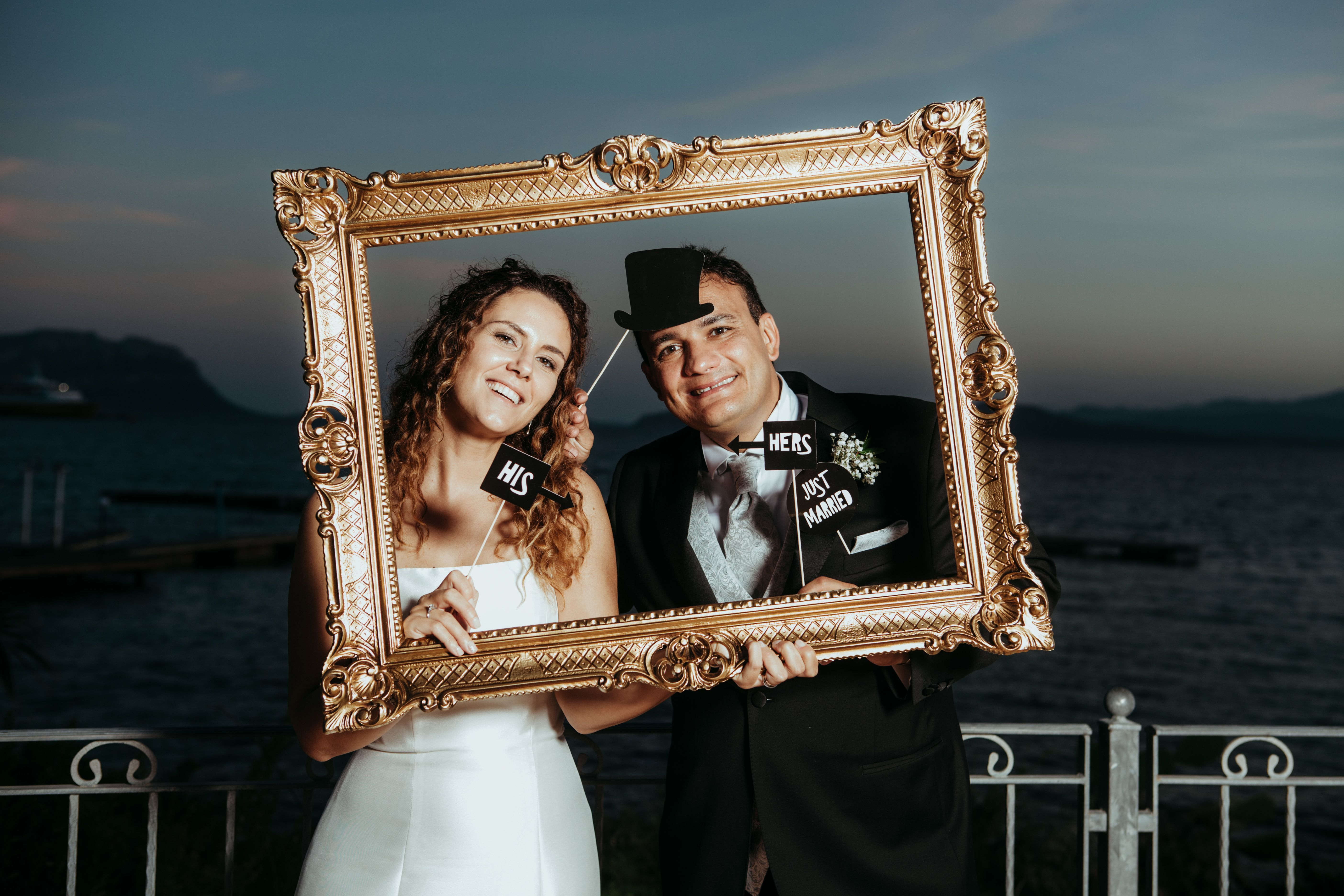 A Wedding Photo Booth Is Always Nice Idea To Collect Memories Of Your Day