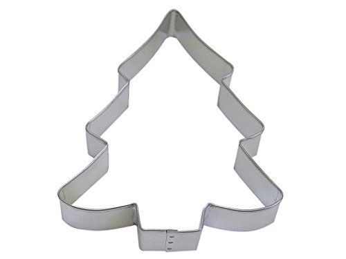 RM Tree Snow Covered 5 Cookie Cutter in Durable Economical Tinplated